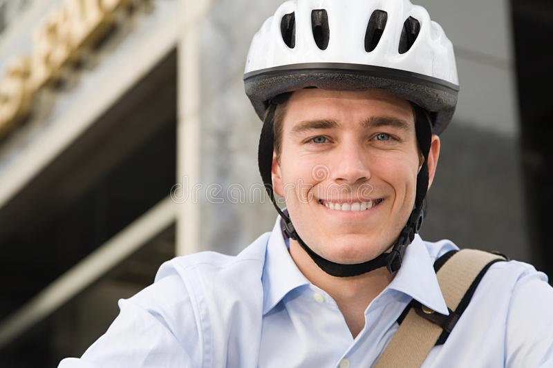 cyclist immagine stock