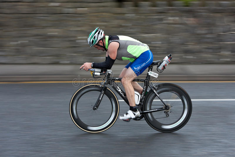 Download Cyclist, Alan Bingham (1587), Panning Technique Editorial Image - Image: 21112555