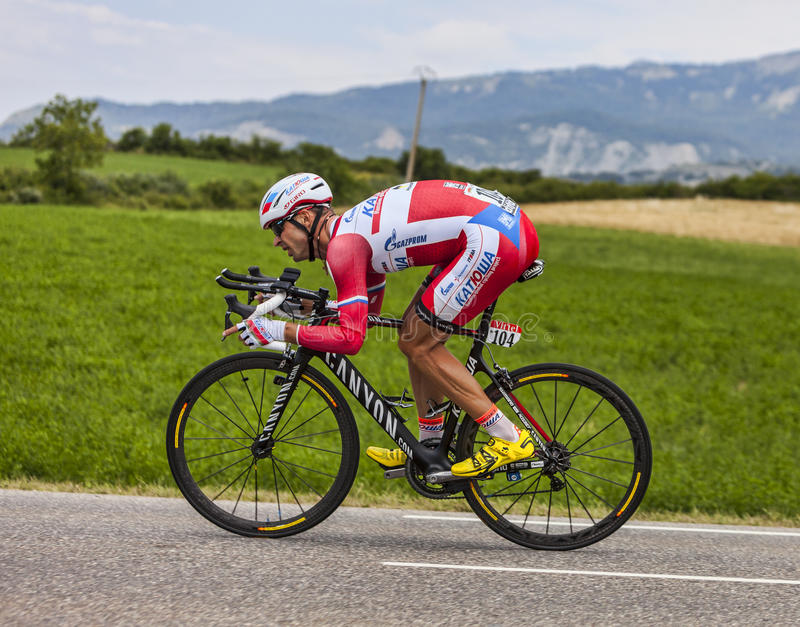 Download The Cyclist Aleksandr Kuschynski Editorial Stock Photo - Image: 34953493