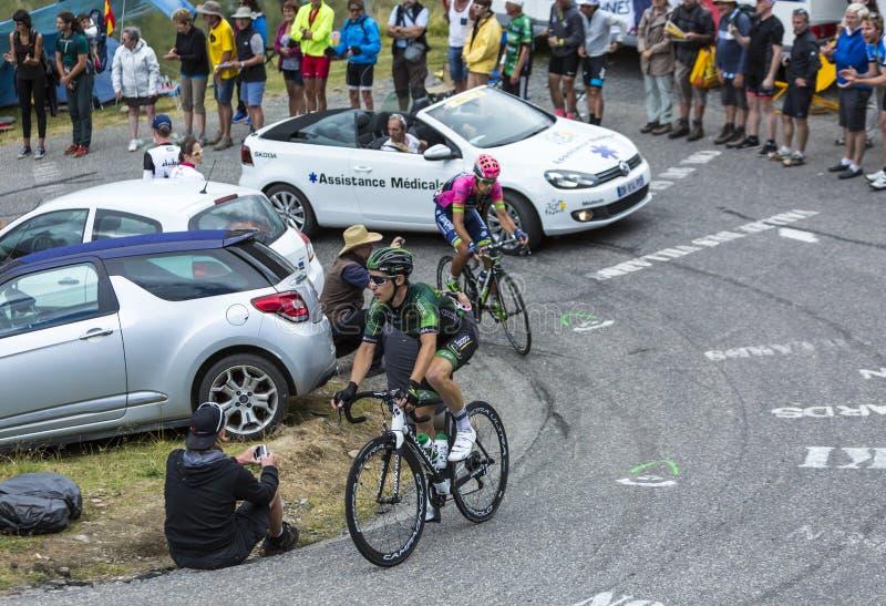 The Cyclist Angelo Tulik - Tour de France 2015 stock photos