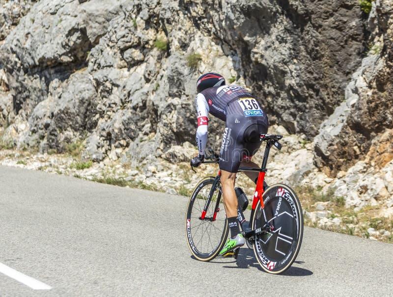 The Cyclist Bartosz Huzarski - Tour de France 2016 royalty free stock photo