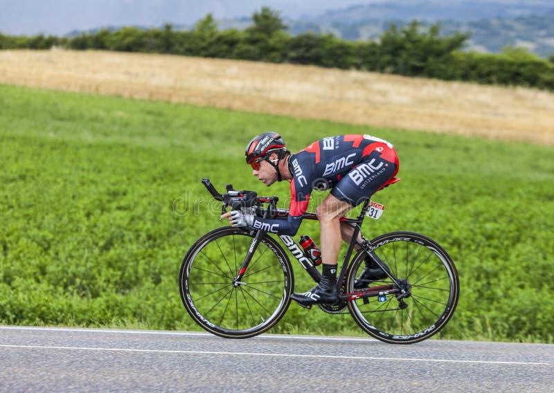 The Cyclist Cadel Evans Editorial Image