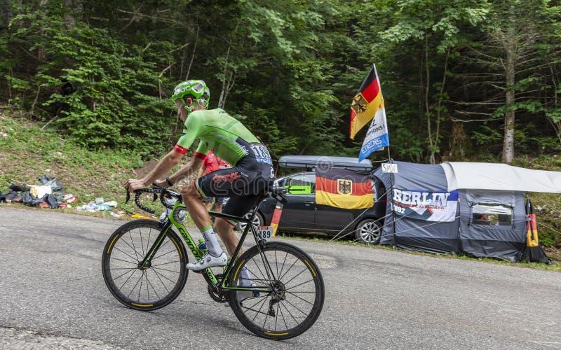 The Cyclist Dylan van Baarle - Tour de France 2017 stock photo