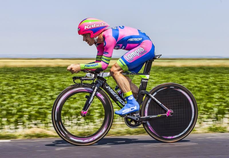 Download The Cyclist Elia Favilli editorial image. Image of merida - 33829505