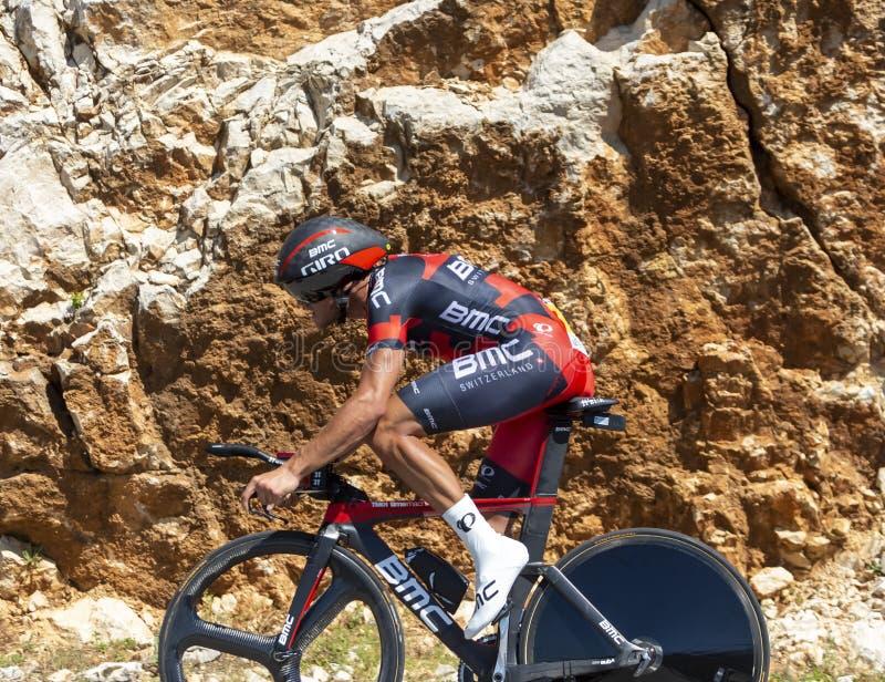 The Cyclist Greg Van Avermaet - Tour de France 2016 royalty free stock image