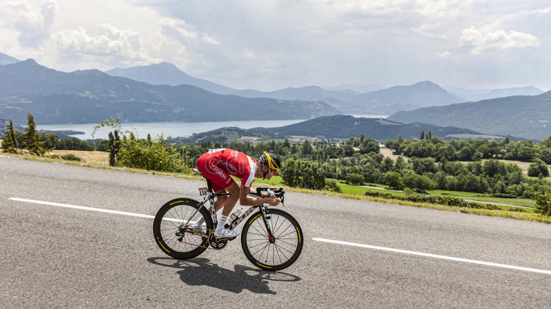 Download The Cyclist Guillaume Levarlet Editorial Stock Photo - Image: 32500378