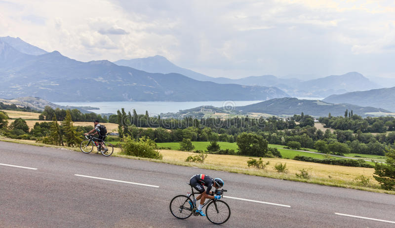 The Cyclist Kanstantsin Siutsou