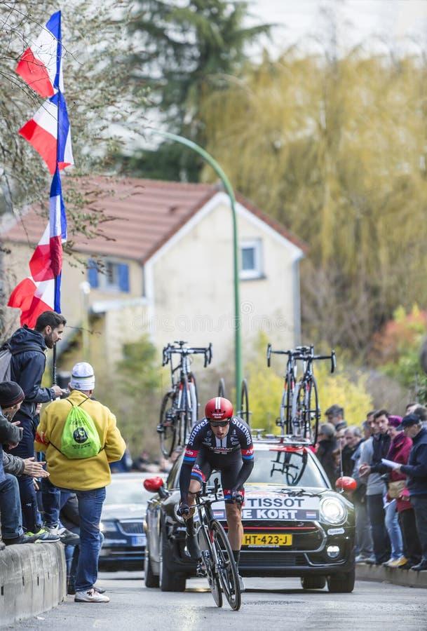 The Cyclist Koen De Kort Paris Nice 2016 Editorial Photo Image