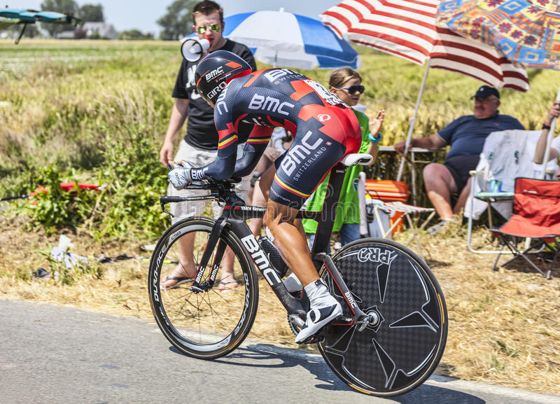 The Cyclist Philippe Gilbert Editorial Stock Photo