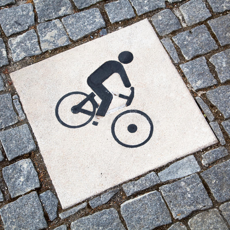 Download Cyclist Pictogram Royalty Free Stock Photography - Image: 31255167