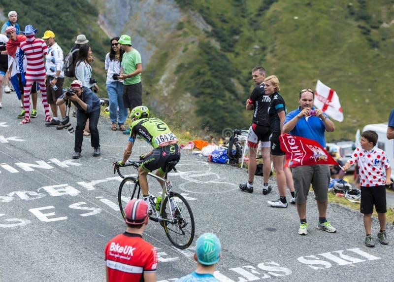 The Cyclist Ryder Hesjedal - Tour de France 2015 stock photos