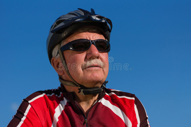 Cyclist royalty free stock images