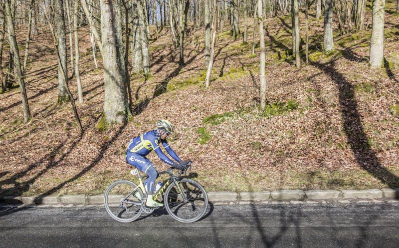 The Cyclist Simon Gerrans - Paris-Nice 2017 stock image