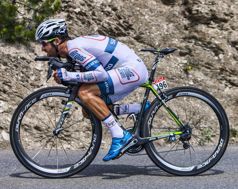 Download The Cyclist Simon Geschke editorial stock image. Image of athlete - 35089439