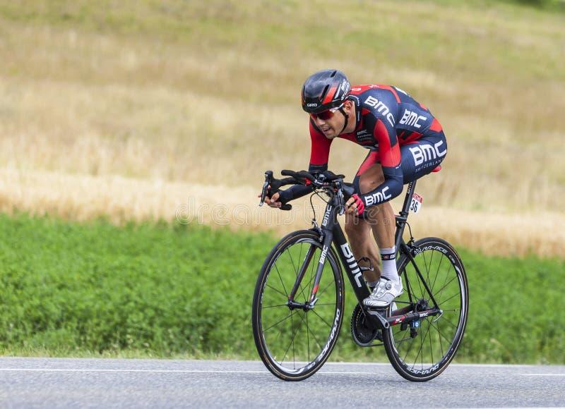 The Cyclist Steve Morabito Editorial Stock Image