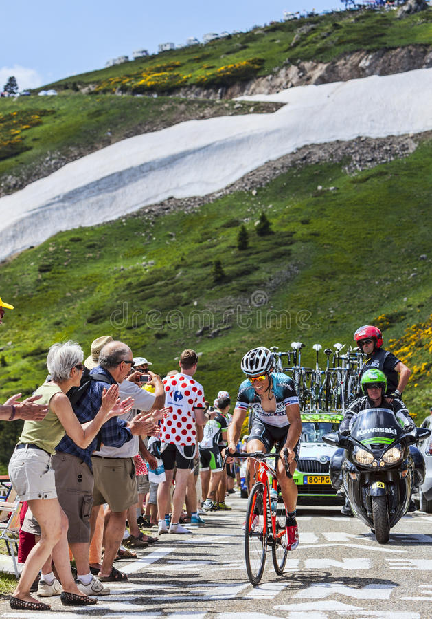 Download The Cyclist Sylvain Chavannel Editorial Stock Photo - Image: 33005898