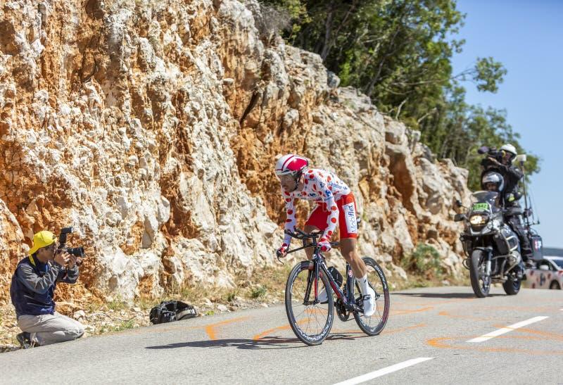 The Cyclist Thomas De Gendt - Tour de France 2016 stock photo