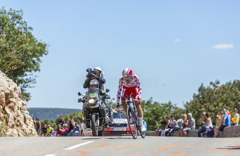 The Cyclist Thomas De Gendt - Tour de France 2016 royalty free stock photo