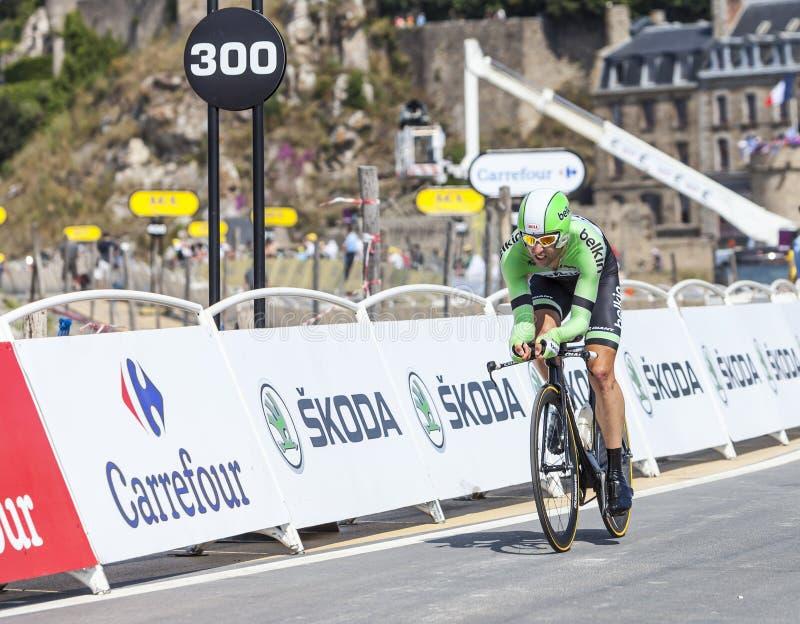 Download The Cyclist Tom Leezer editorial stock image. Image of belkin - 34122794