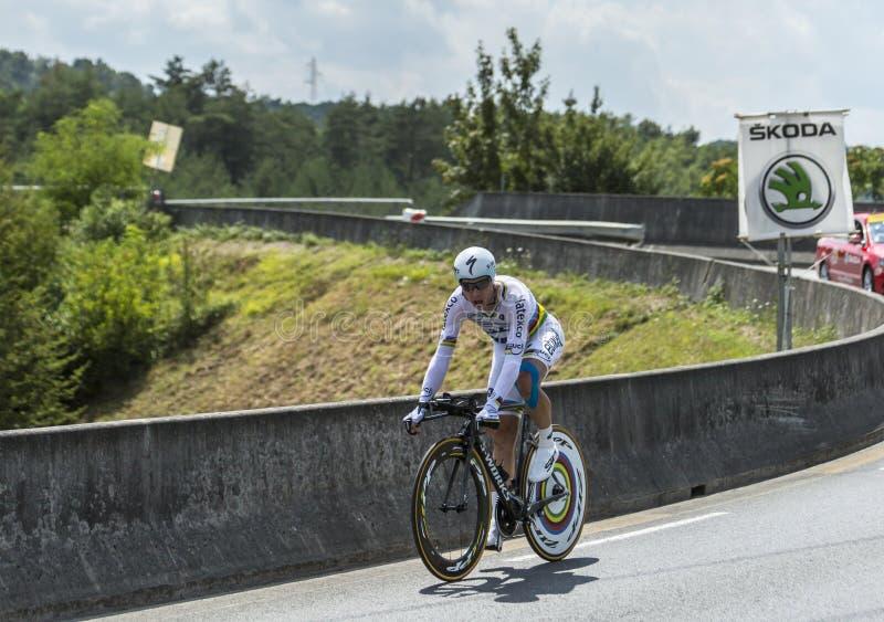 The Cyclist Tony Martin - Tour de France 2014 stock image
