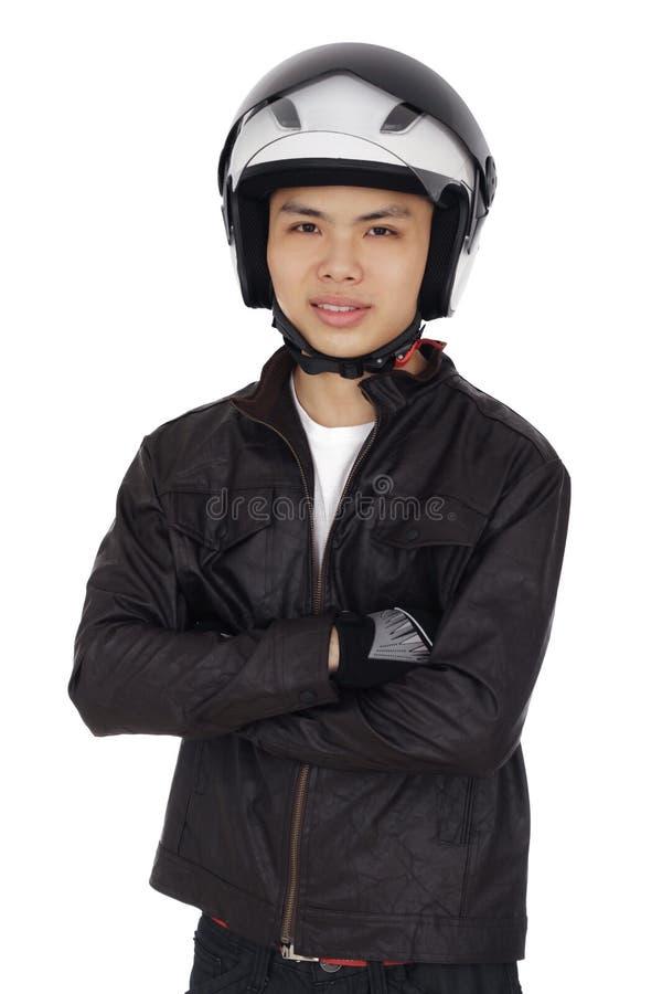 Cycliste photos stock