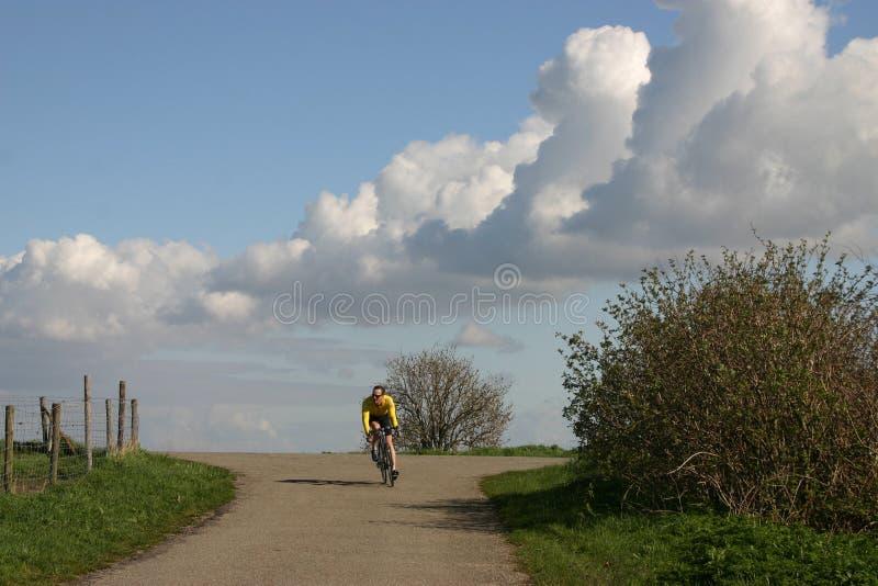 Download Cycliste photo stock. Image du espace, pratique, hollandais - 734456