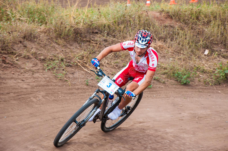 Download Cyclistes de concurrence image stock éditorial. Image du activité - 45371614