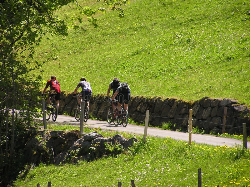 Download Cyclists #2 stock photo. Image of sports, summer, leisure - 6940