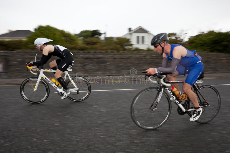 Download Cyclists, Panning Technique,2nd Curtain Sync Flash Editorial Image - Image: 21112690
