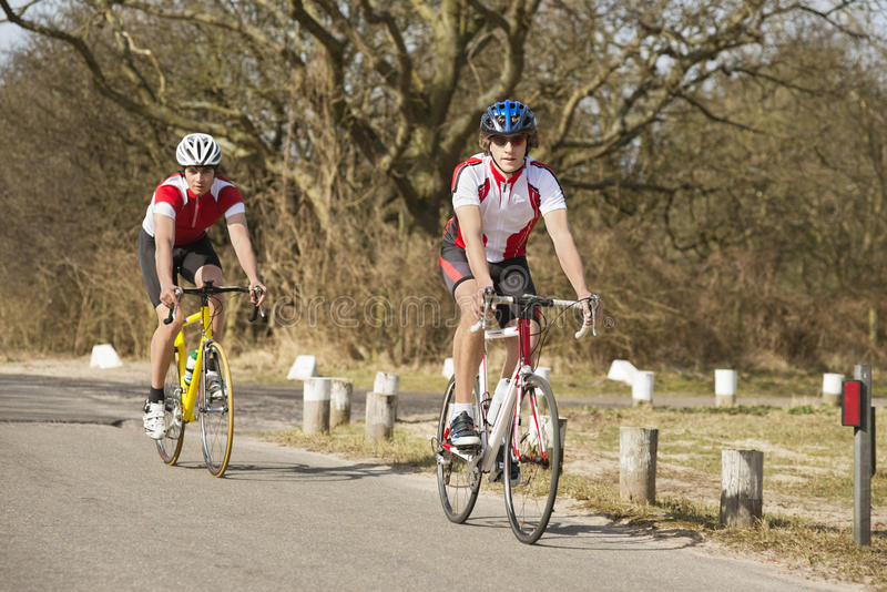 Download Cyclists In Pursuit Stock Image - Image: 25110591