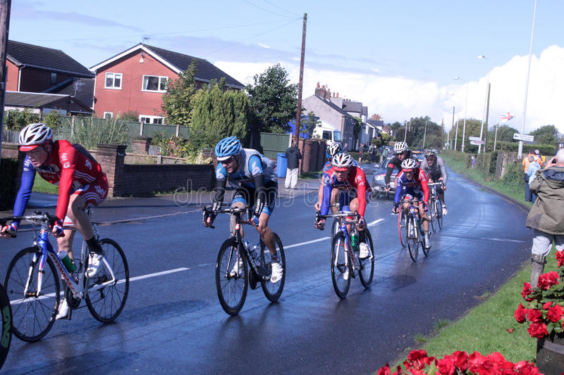 Download Cyclists Stage 4 Of The Tour Of Britain Race 2012 Editorial Stock Image - Image: 26580264