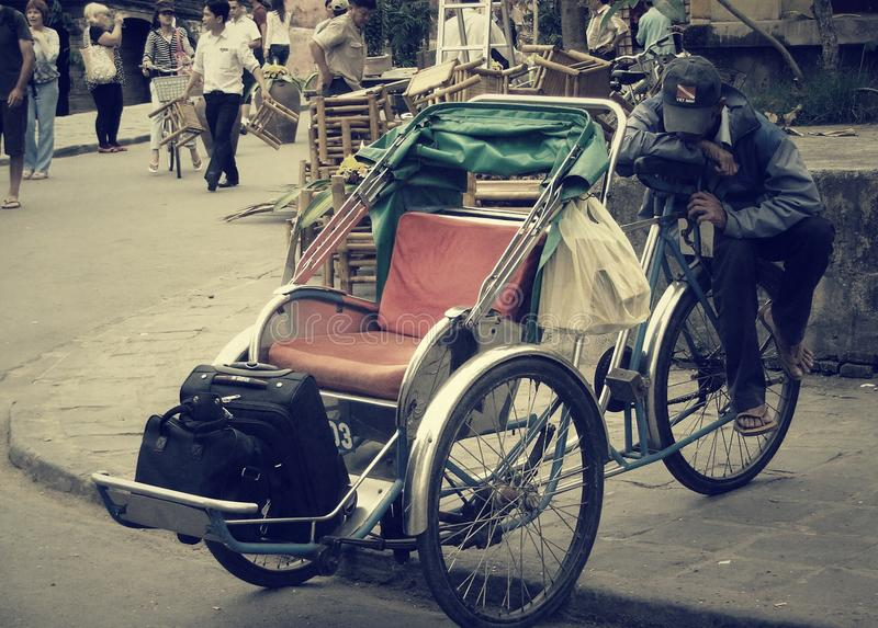 Cyclo royalty-vrije stock fotografie