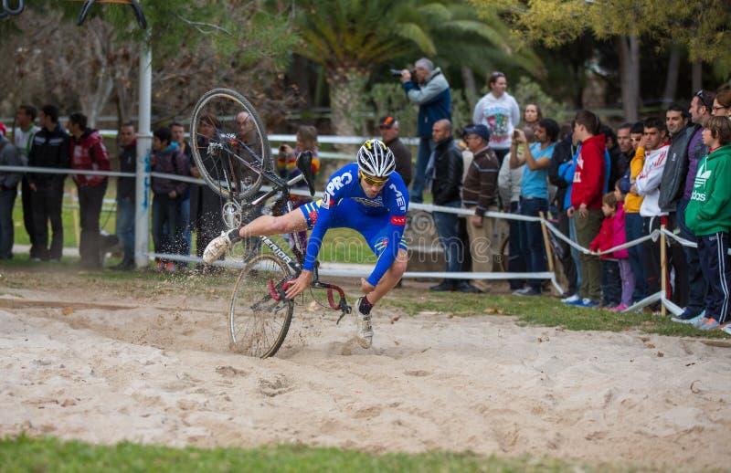 Cyclocross fotos de archivo