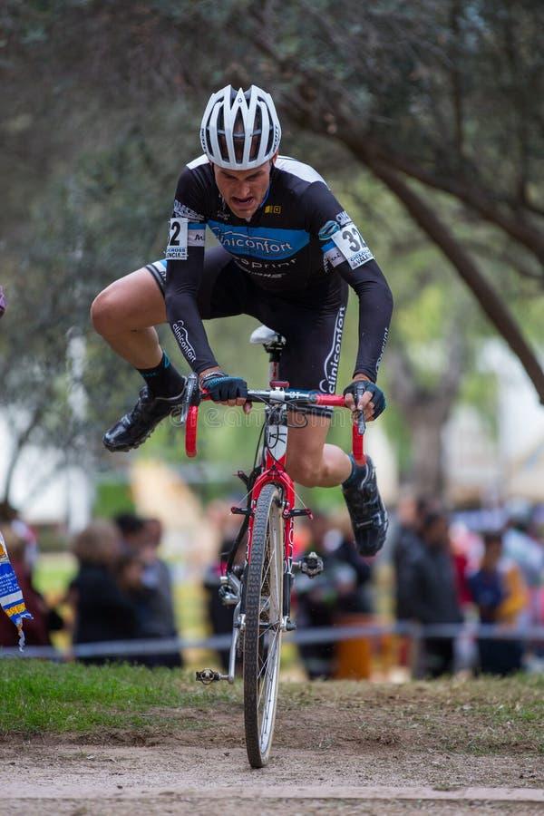 Cyclocross stock afbeeldingen