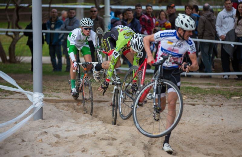 Cyclocross photographie stock