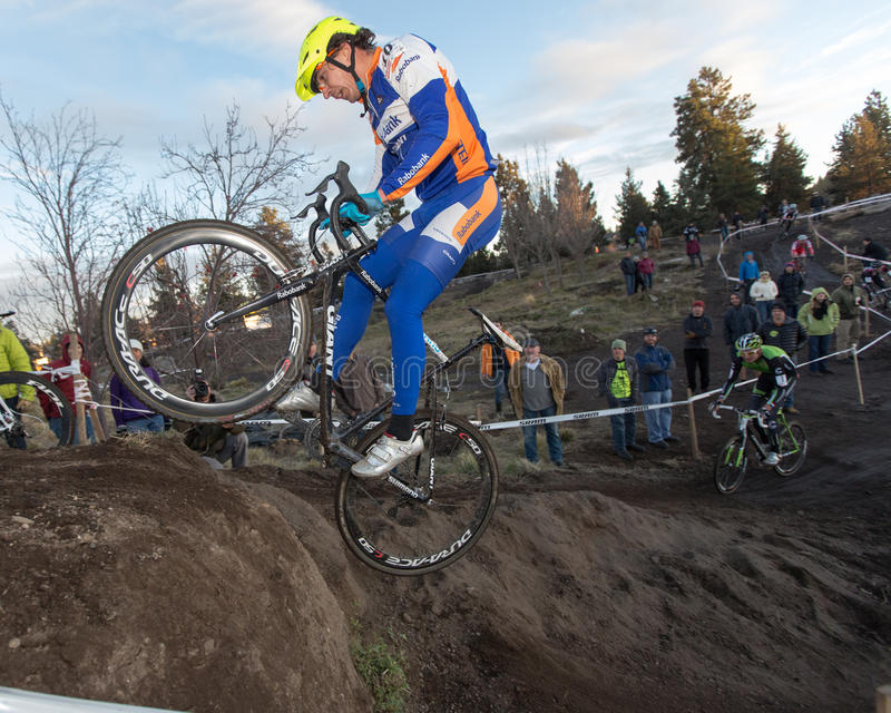 Cyclocross - Adam Craig royalty-vrije stock fotografie