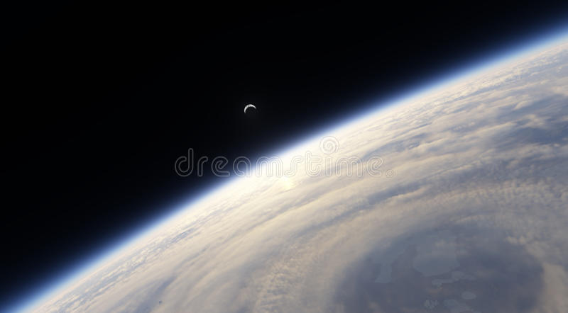 Download Cyclone stock illustration. Image of earth, tornado, nature - 19574066