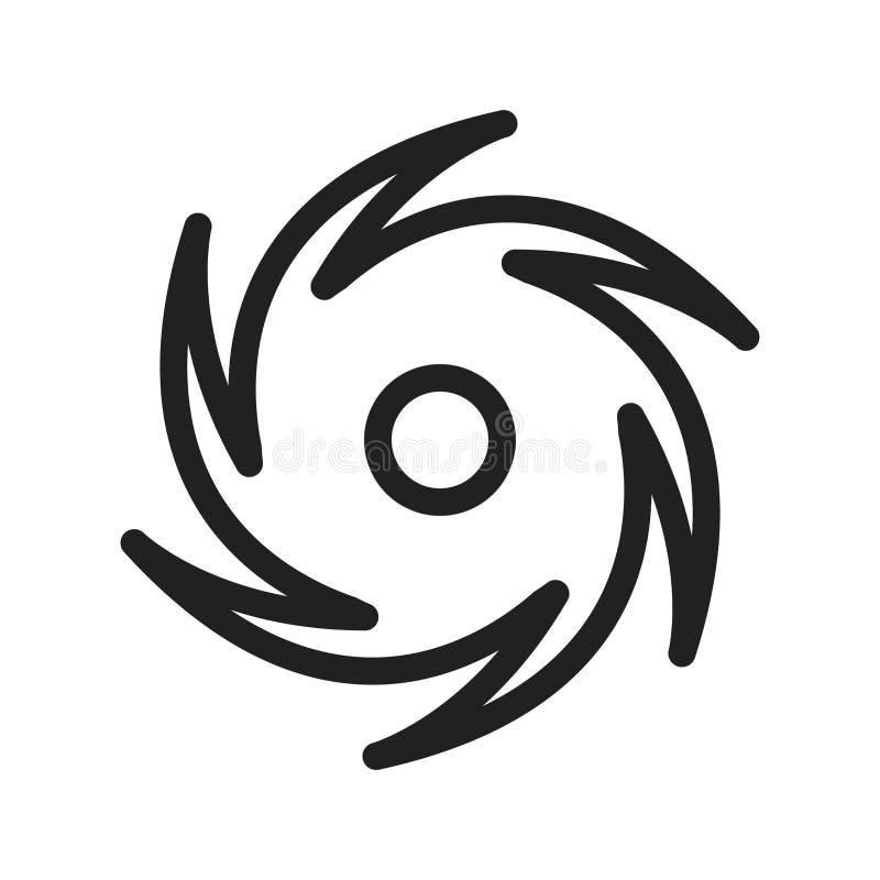 Cyclone stock vector  Illustration of dark, design