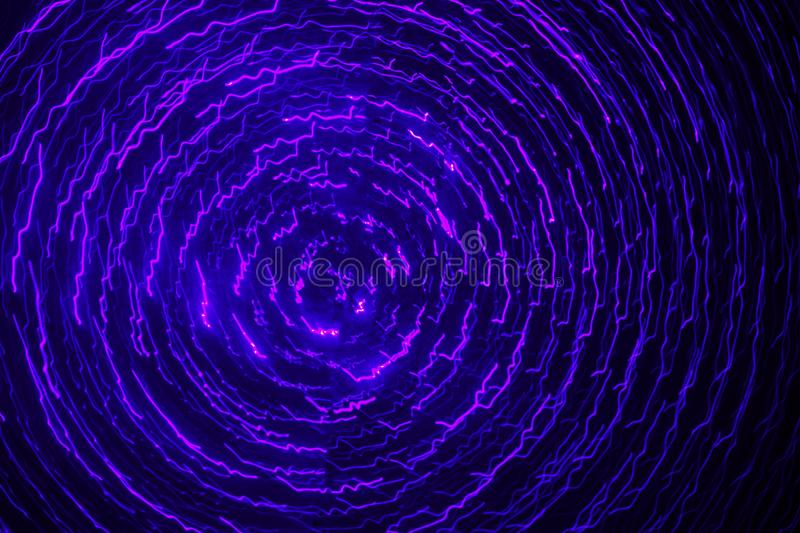 Cyclone ultra-violet images stock