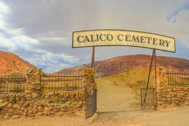 Cycowy Cmentarniany miasto widmo obraz stock