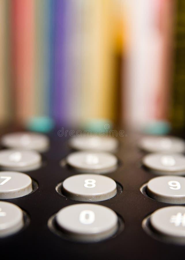 cyfra telefon obraz stock