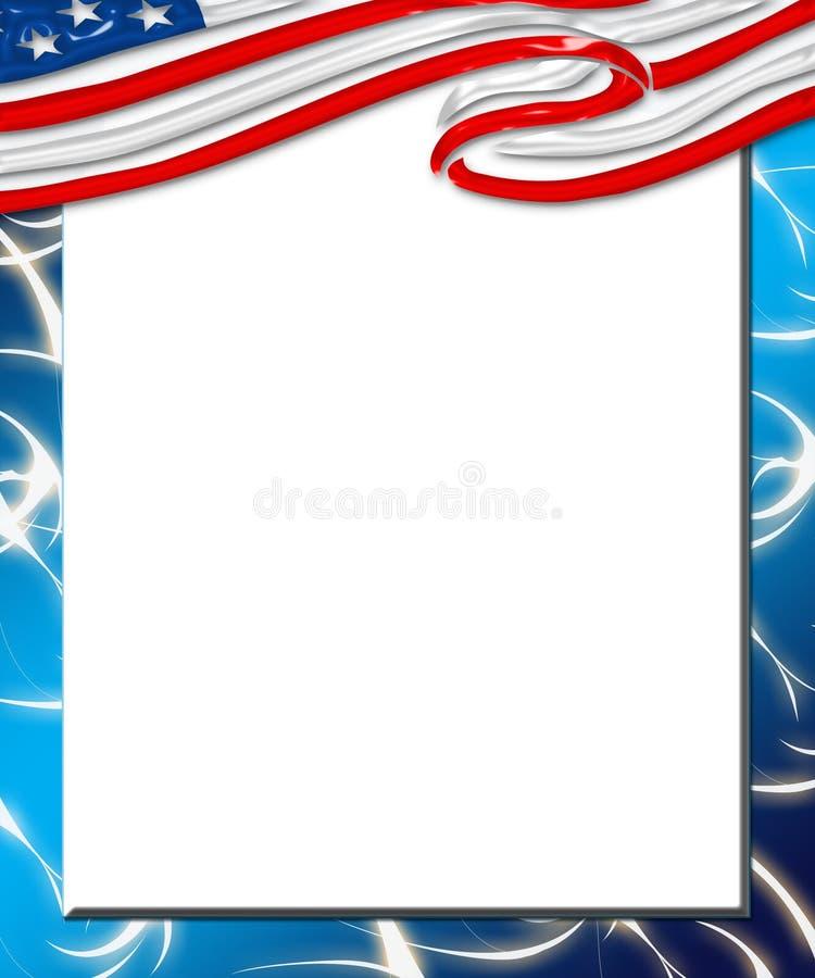 cyfrowa 2 flagę ilustracji