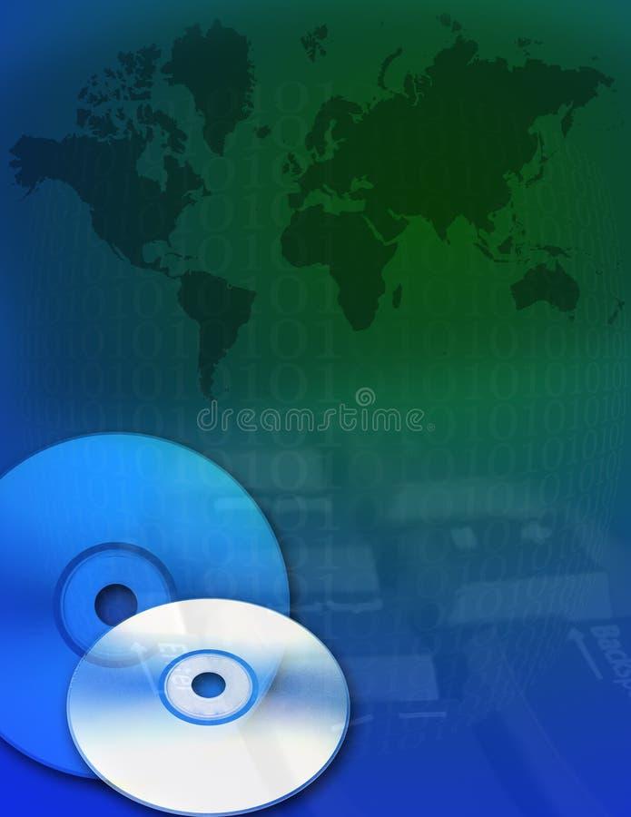 cyfrowa 3 ziemi ilustracja wektor