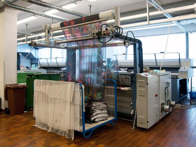 cyfrowa drukowa tkanina zdjęcie royalty free