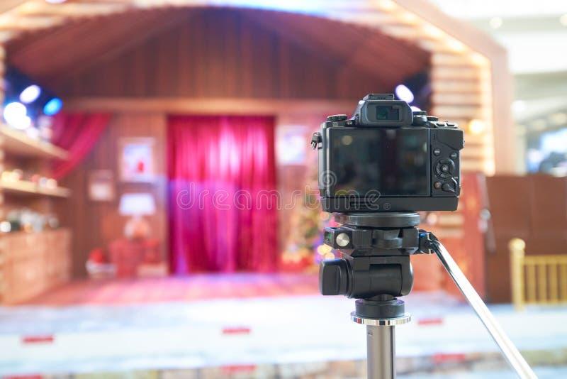 Cyfrowa kamera zdjęcia stock