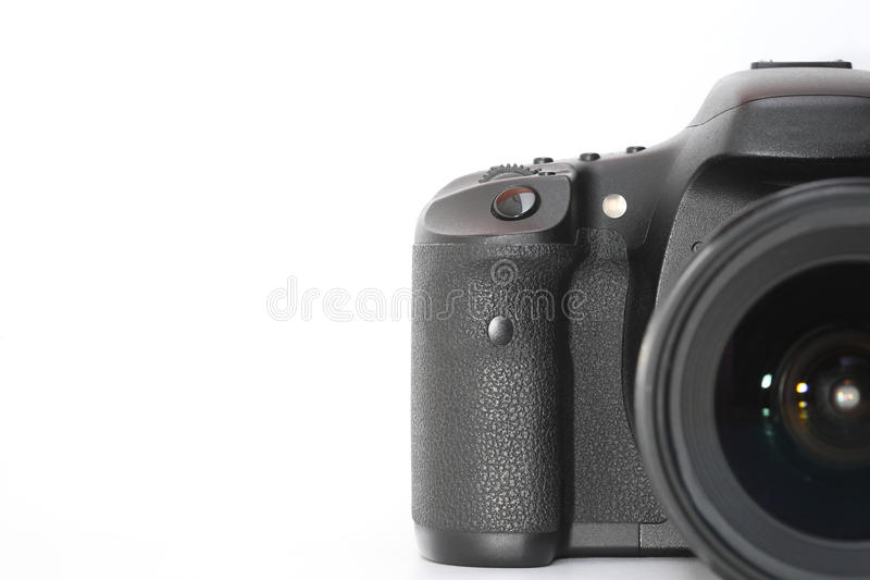 Cyfrowa kamera z kopii przestrzenią obraz royalty free