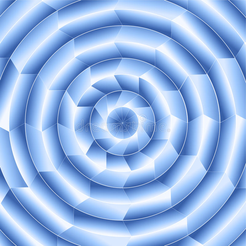 Cyfrowego Błękitny Promieniowy projekt zdjęcie stock