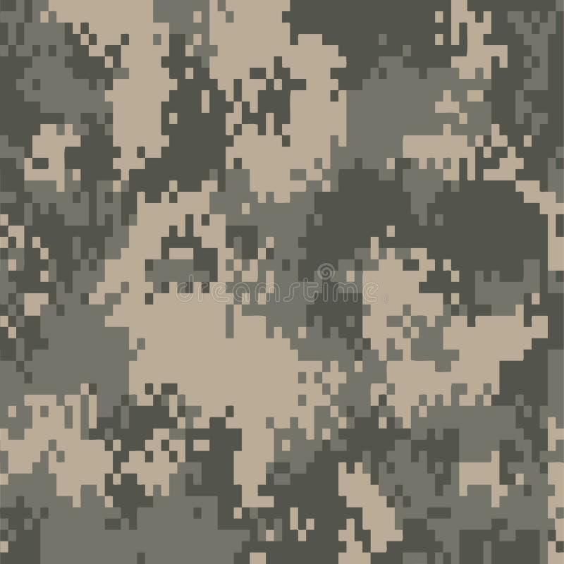 Cyfrowego camo wzoru tło ilustracji