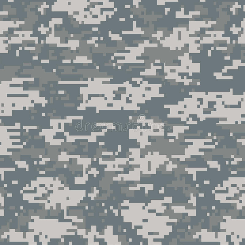 Cyfrowego kamuflażu bezszwowy wzór obrazy stock