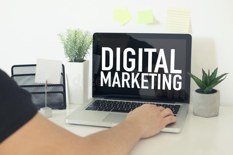 Cyfrowego marketing obrazy stock